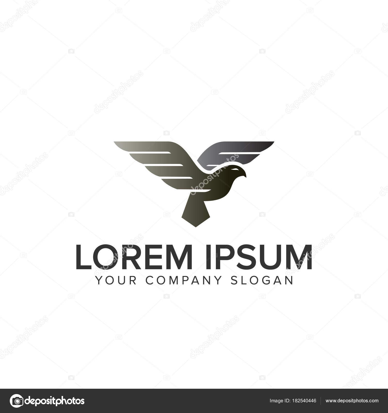 flying bird logo template stock vector oriu007 182540446