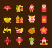 Fotografie Chinese New Year Icon set