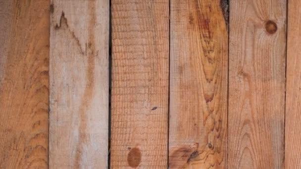 Hintergrund Textur von Holzbrettern in Bewegung rechts