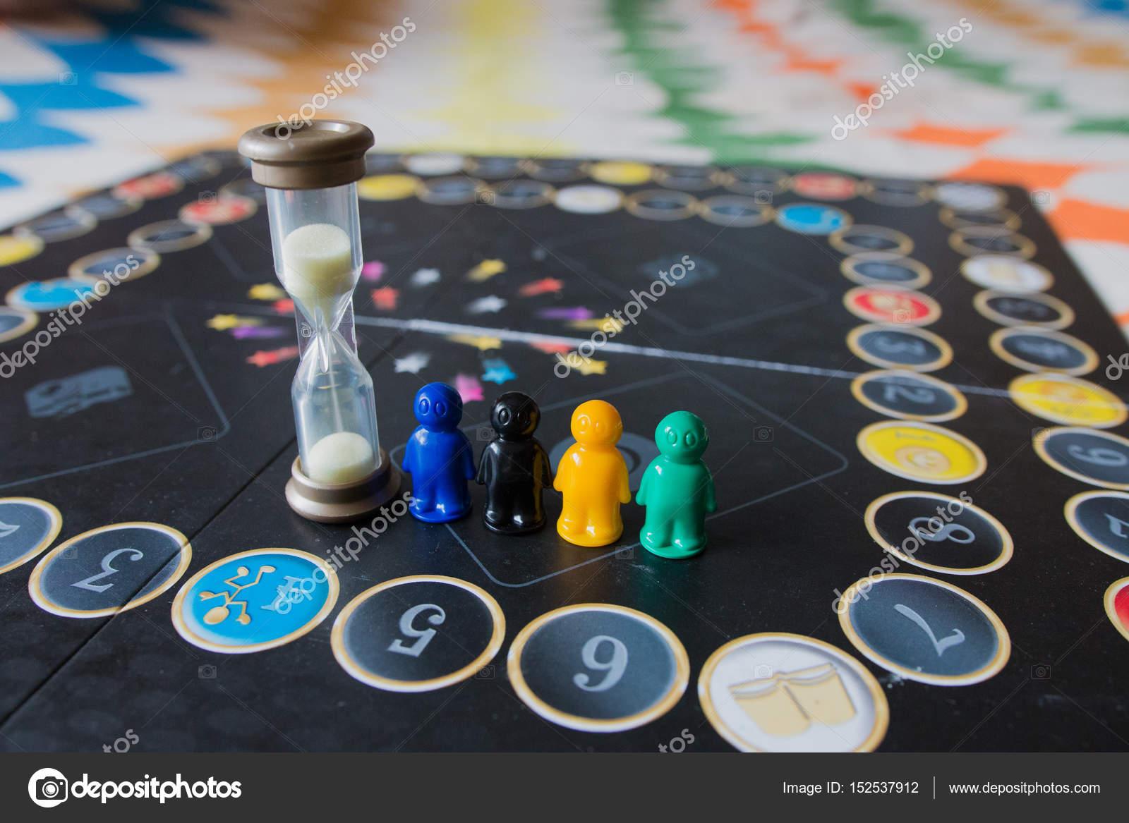 Juegos De Mesa Con Reloj De Arena Varios Colores Fichas Para Juego