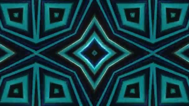 Abstraktní pohybující se kaleidoskop pozadí. 4K animace. Návrh pohybu.