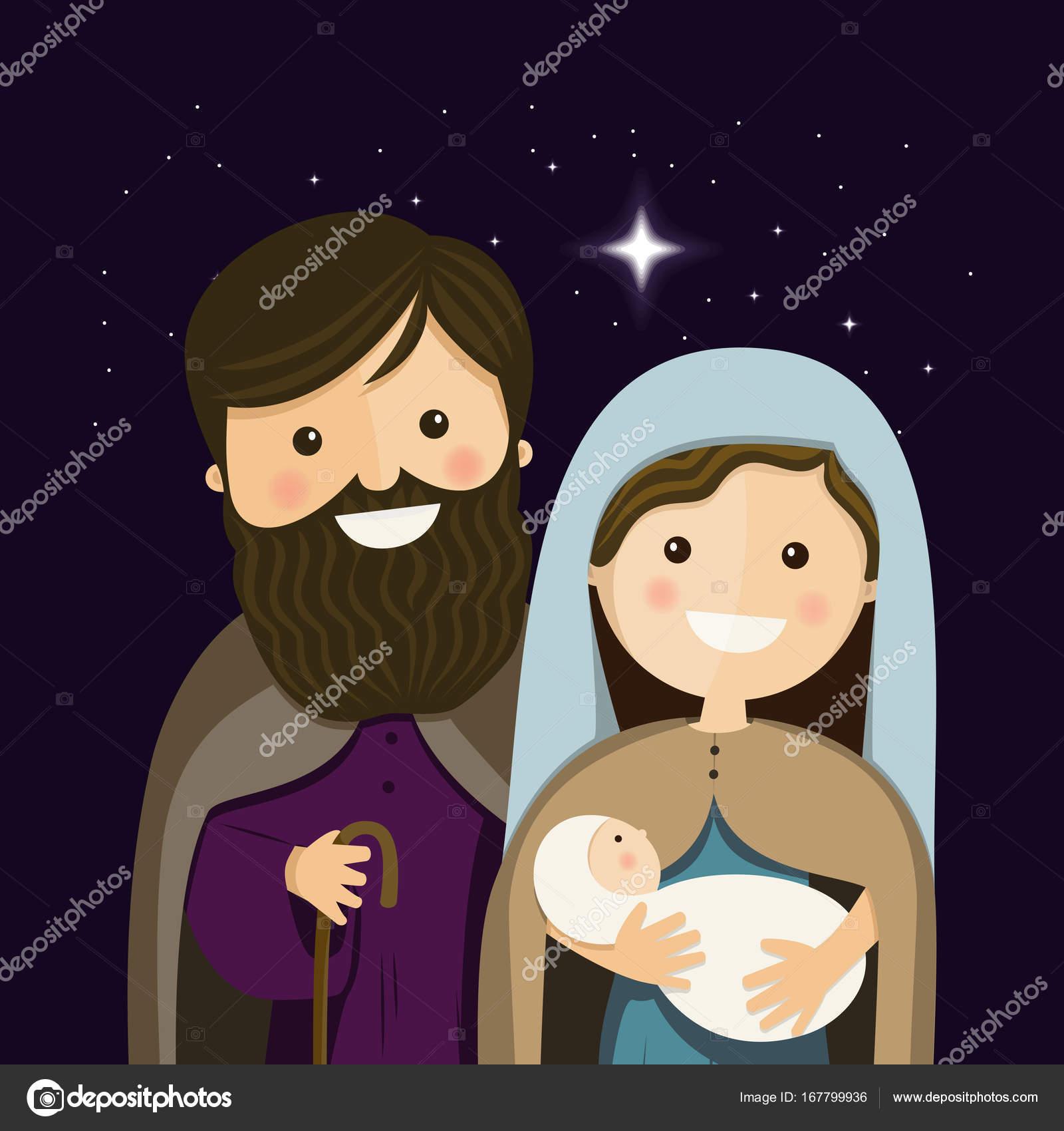 Immagini Sacre Natale.Illustrazione Natale Sacre Vigilia Di Natale Con Sacra