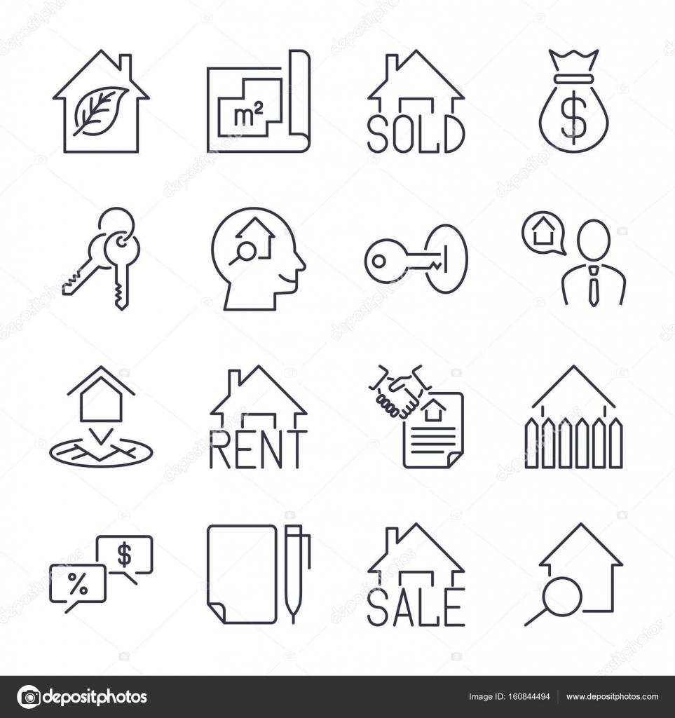 Agenzia Immobiliare Immobiliare Si Occupa Insieme Dellu0027icona. Per I Segni  In Vendita E Affitto. Eco Casa, Portachiavi, Contratto E Altro Ancora.