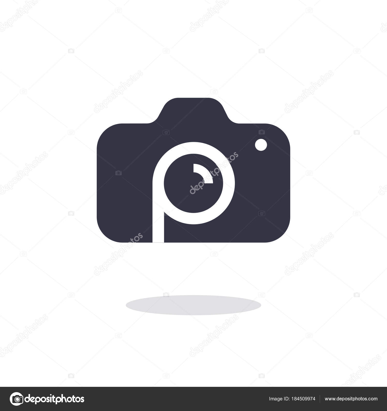 Camera Icon In Trendy Flat Style Isolated On White Background Camera