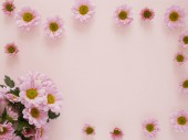 Photo photo of Beautiful blossoms of pink flowers texture pattern on pink background