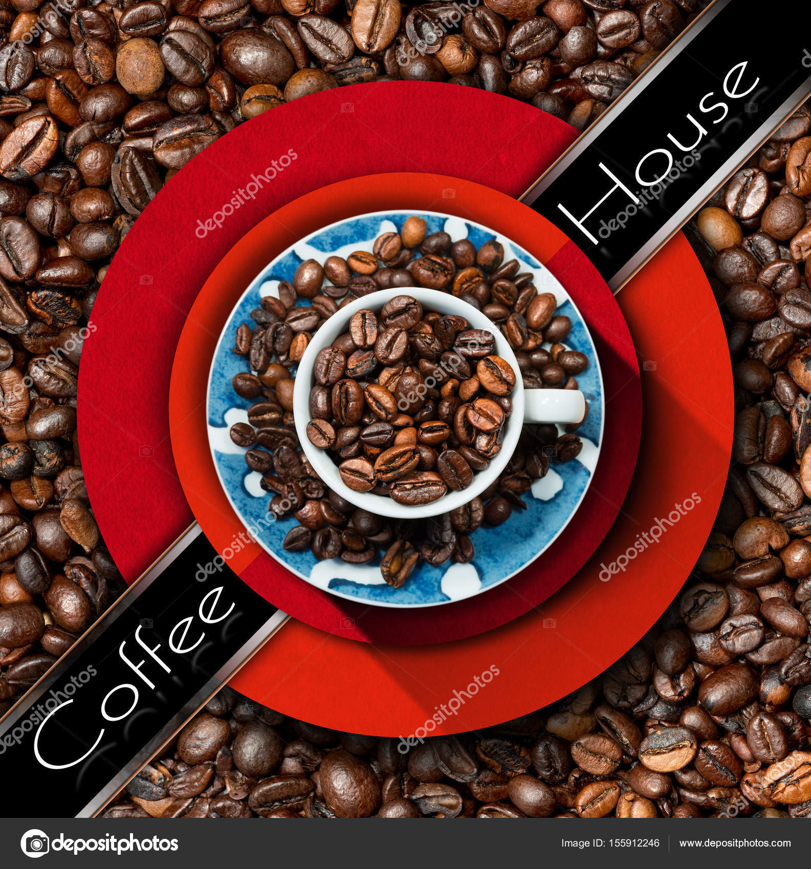 Template For Coffee House Menu Stock Photo Catalby