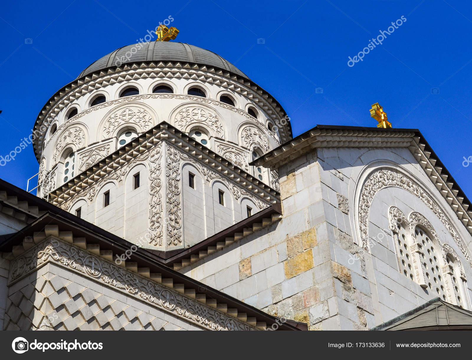 La Credenza Podgorica : Cattedrale della risurrezione di cristo a podgorica montenegro