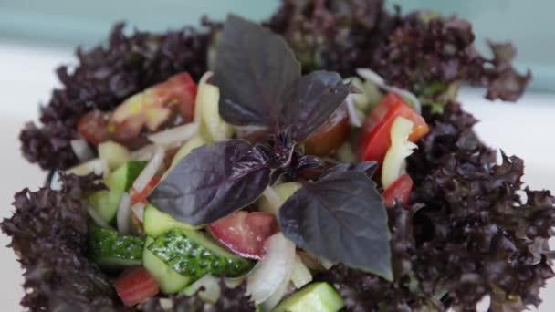 Zeleninový talíř, detail.