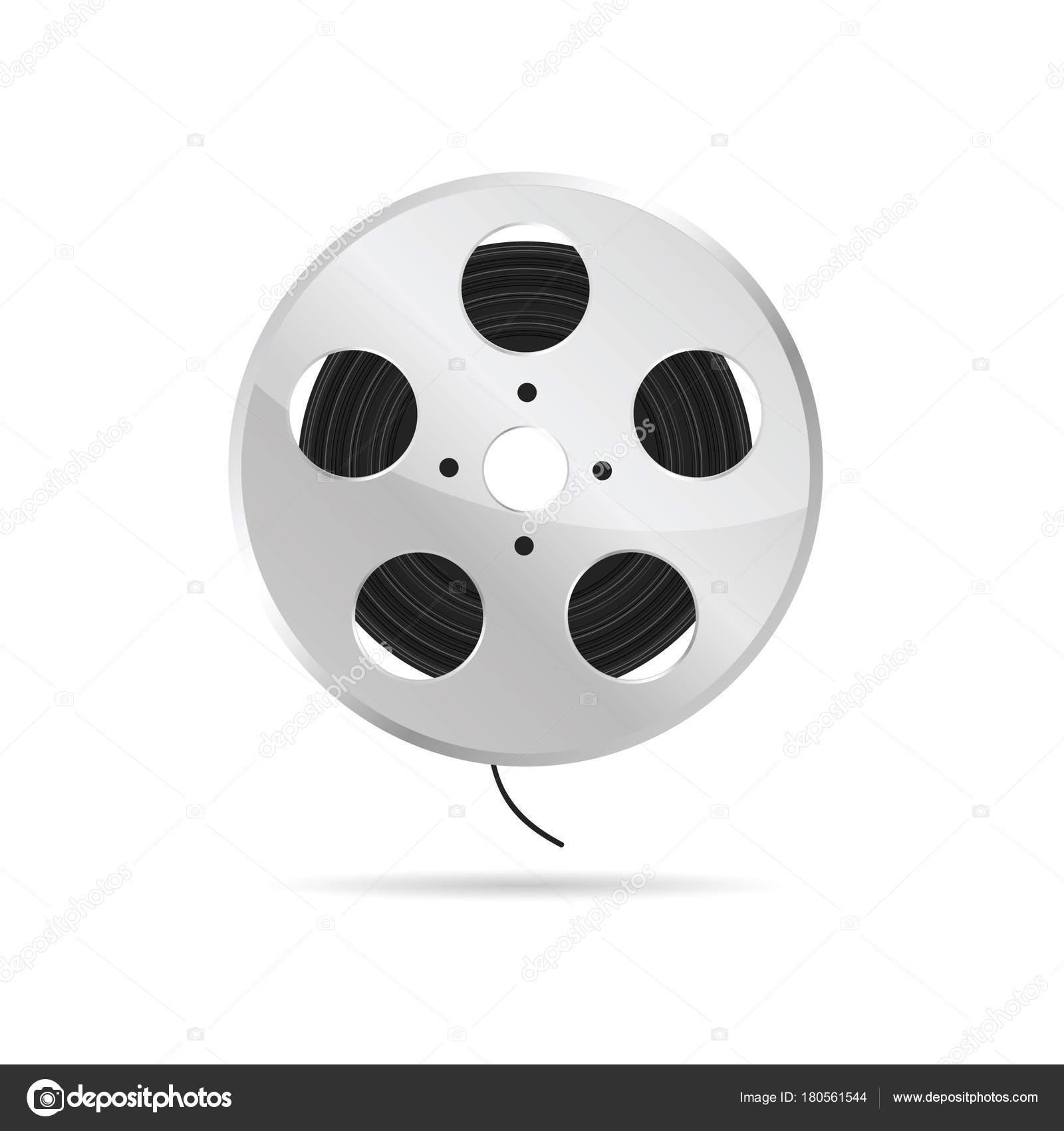 Film Tape Roll Illustration Stock Vector C Drgaga 180561544