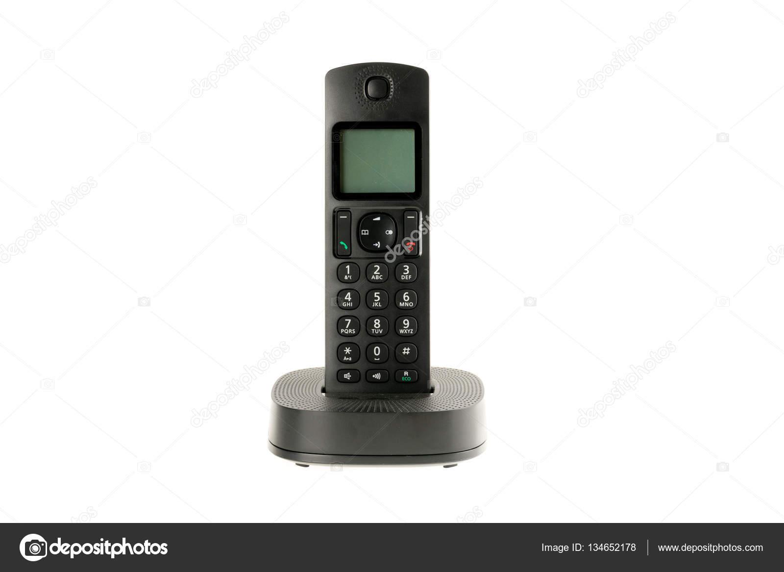 modern cordless dect phone — Stock Photo © 2Ban #134652178