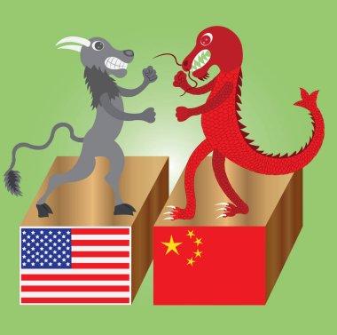 the buffalo versus the dragon