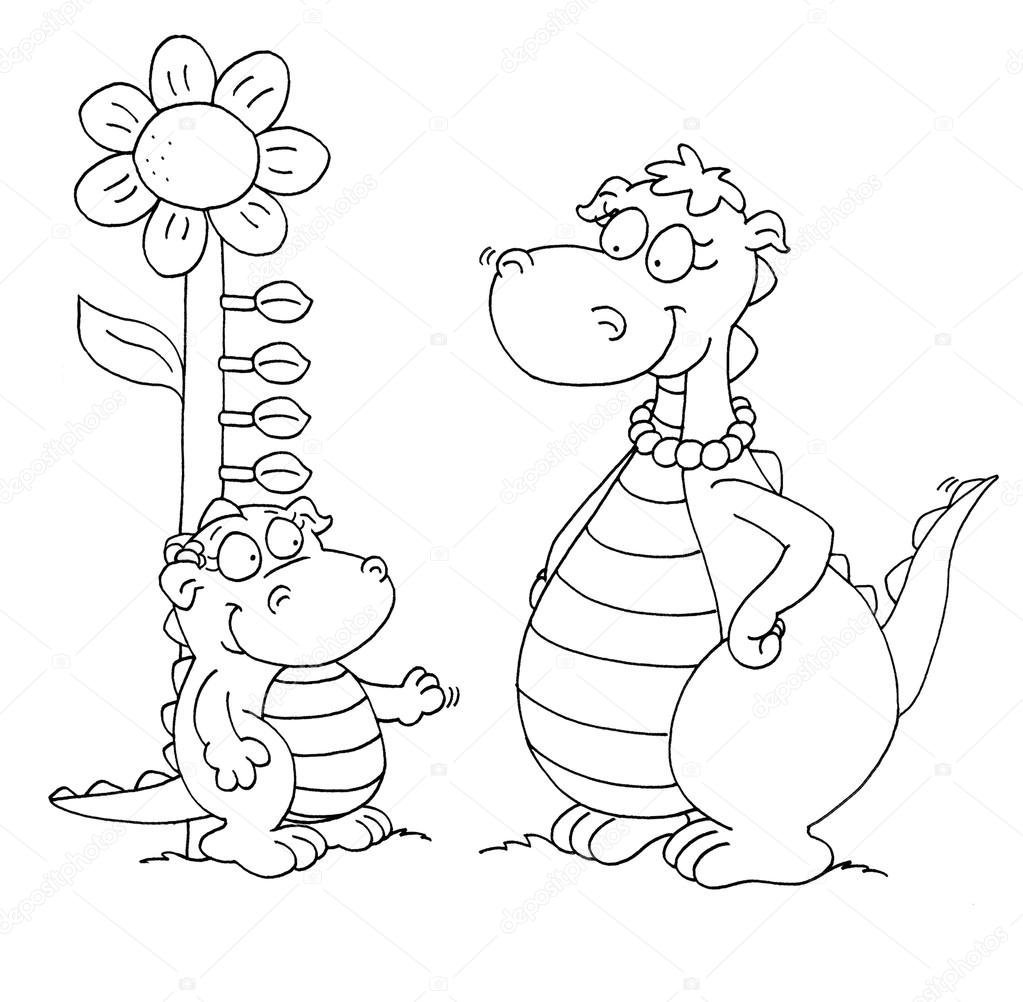 Dibujos de la sección de para colorear de un dormitorio dos dragones ...