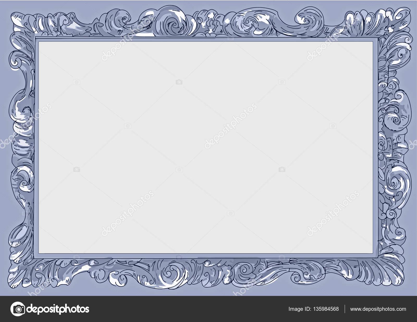 Cornici quadri arte barocco progettato falso telaio for Cornici quadri