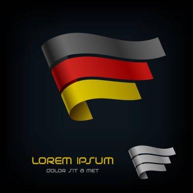 Flag of Germany, Ribbon