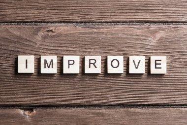 Improve Company concept