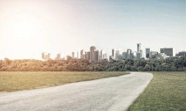Road to big city