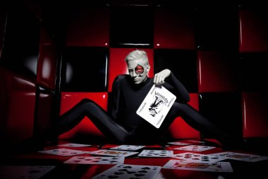 Jocker card game unfaithfulness treasonable casino gamer liar