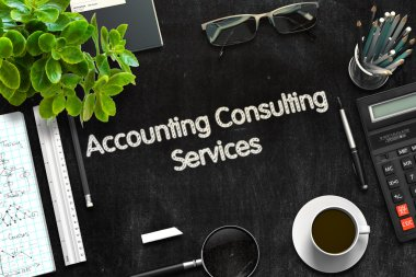 Accounting Consulting Services Concept. 3D render.