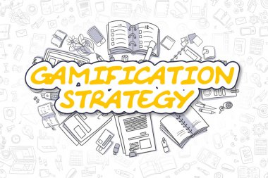 Gamification Strategy - Business Concept.