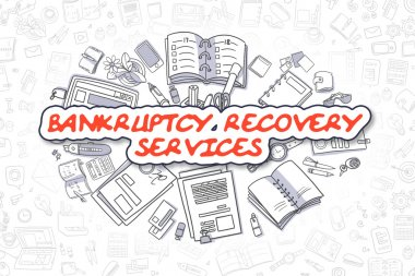 Bankruptcy Recovery Services - Business Concept.
