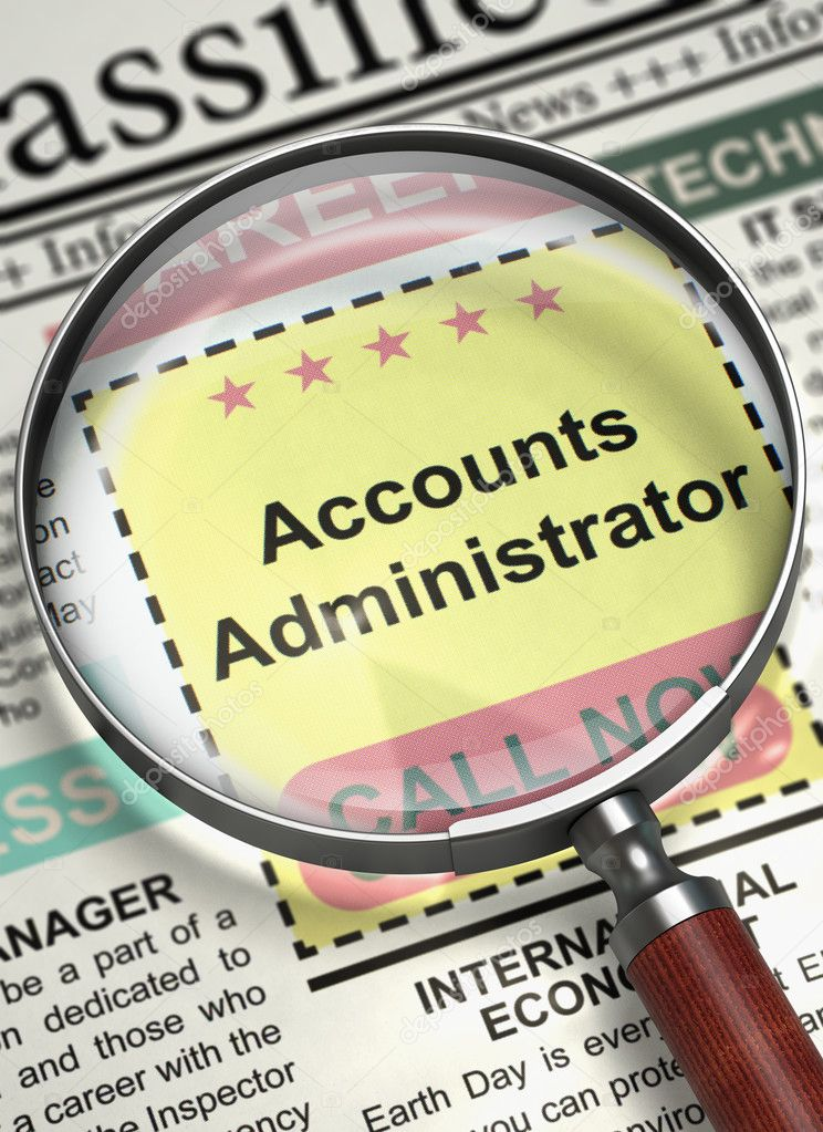 Image result for hiring Accounts Administrator