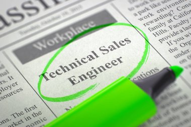 Technical Sales Engineer Wanted. 3D.