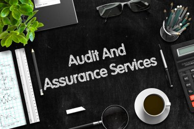 Audit And Assurance Services Concept. 3D render.