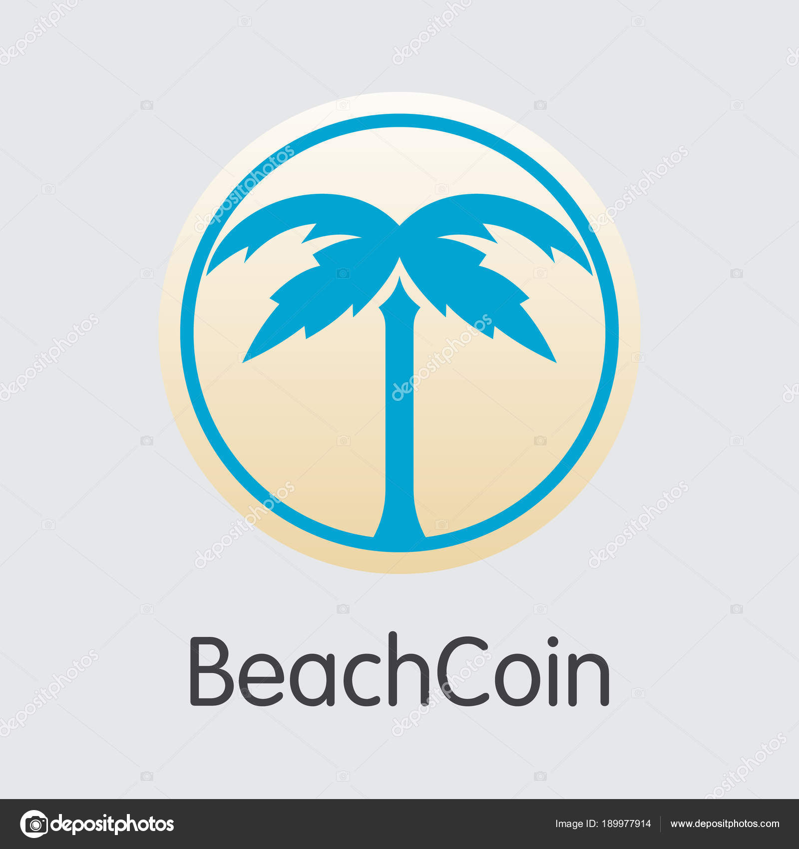 Dash Cryptocurrency Logo Beachcoin Crypto