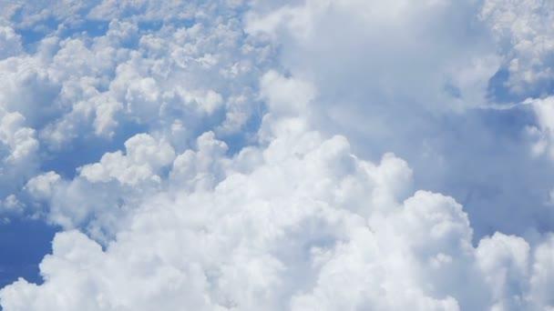 Pohled na cloudscape. z letadla