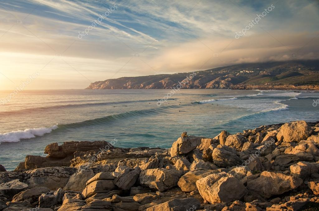 Seascape at Guincho beach