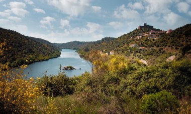 Belver region with Tagus river