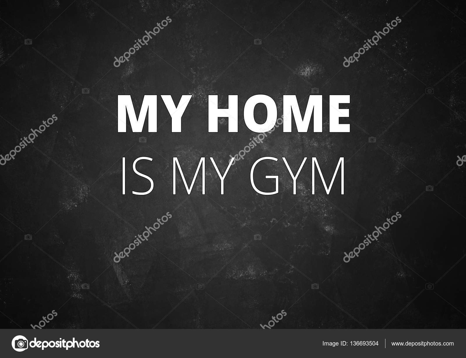 Gym Motivation Quotes Wallpaper Fitness Motivation Quotes Stock Photo C Jakysinka 136693504
