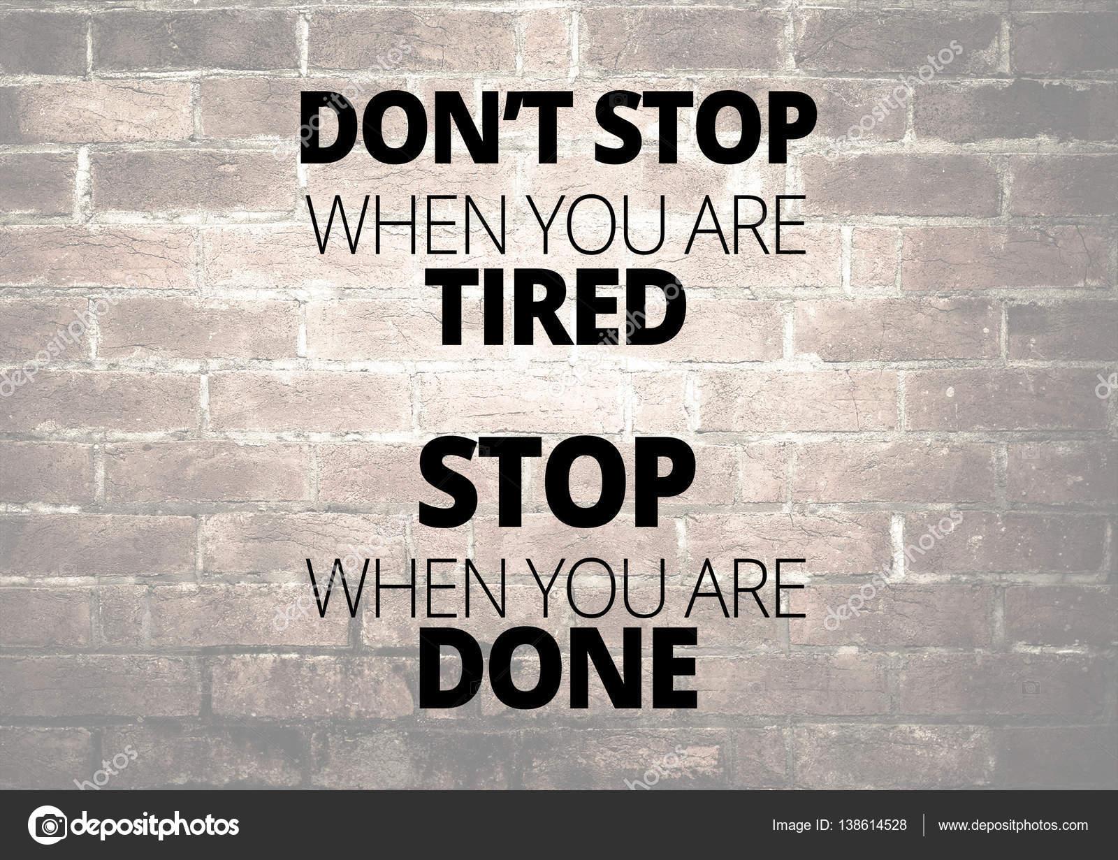 Fitness Motivation Quotes Stock Photo Jakysinka 138614528