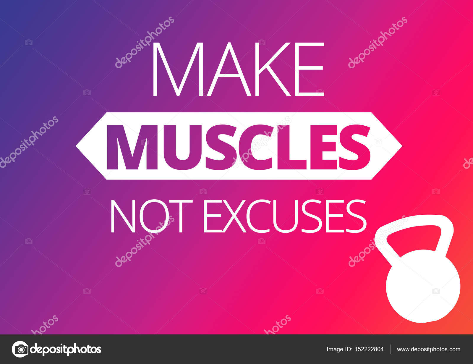 Fitness Motivation Zitate Stockfoto Jakysinka 152222804