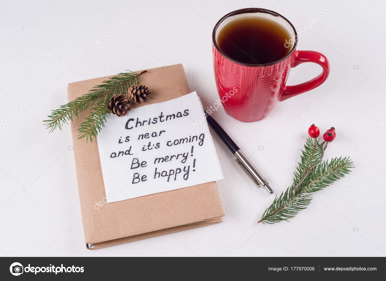 Weihnachtsgrüße Text Lustig.Frohe Weihnachtsgrüße Oder Wünsche Handgeschriebenen Text Mit