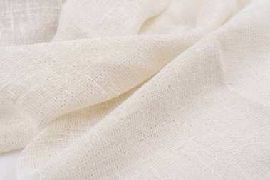 Natural fabric linen. sackcloth textured. texture, background, pattern.