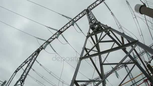 voltage electric transmission line support