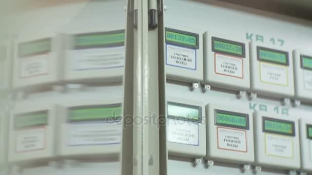 Automatické měřiče schodiště bytového domu