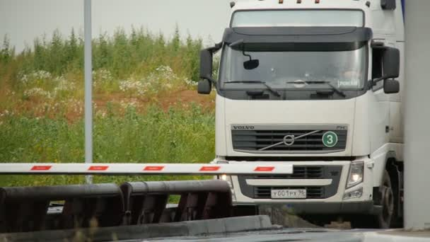 náklaďák do kontrolního bodu žebříčky