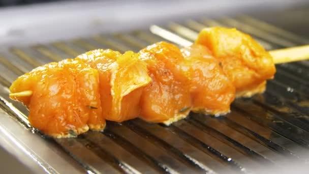 golden chicken meat