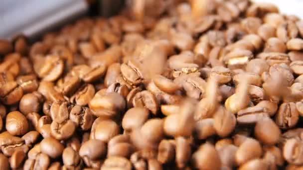 na aromatické kávě zrna