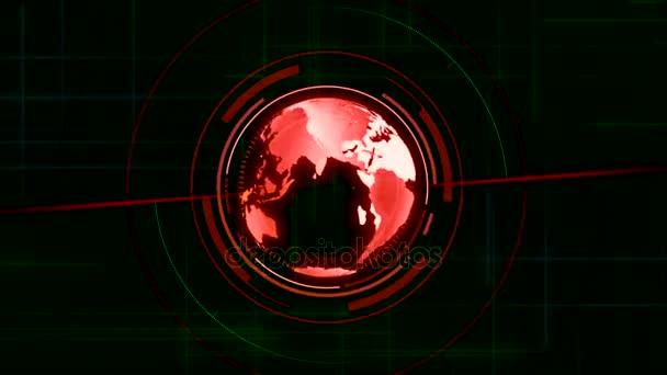 Globální data Gps zjistit zemi mapy, Radar Gps navigaci rozhraní, Světová mapa alarm Antarktida