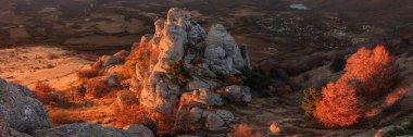 Crimea.  A beautiful panoramic view