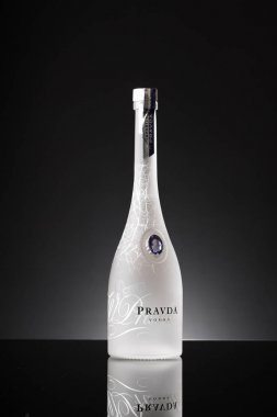 pravda vodka bottle