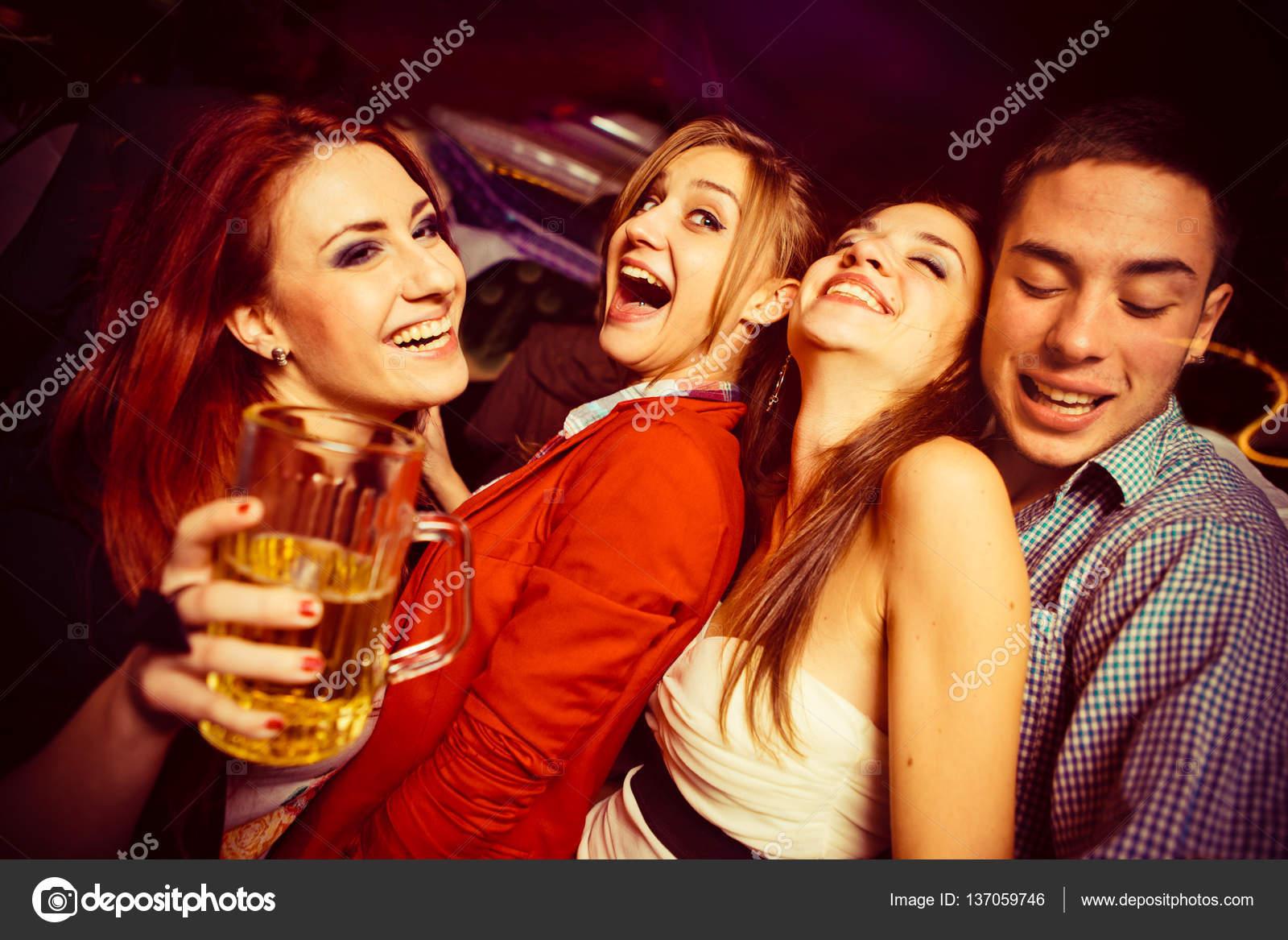 People in night club dancing — Stock Photo © Diem ph #137059746