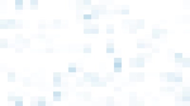 Weißer abstrakter Hintergrund mit quadratischen Pixeln