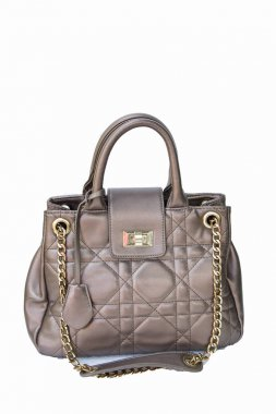 Women's handbags fashionable fashion handbags on white background