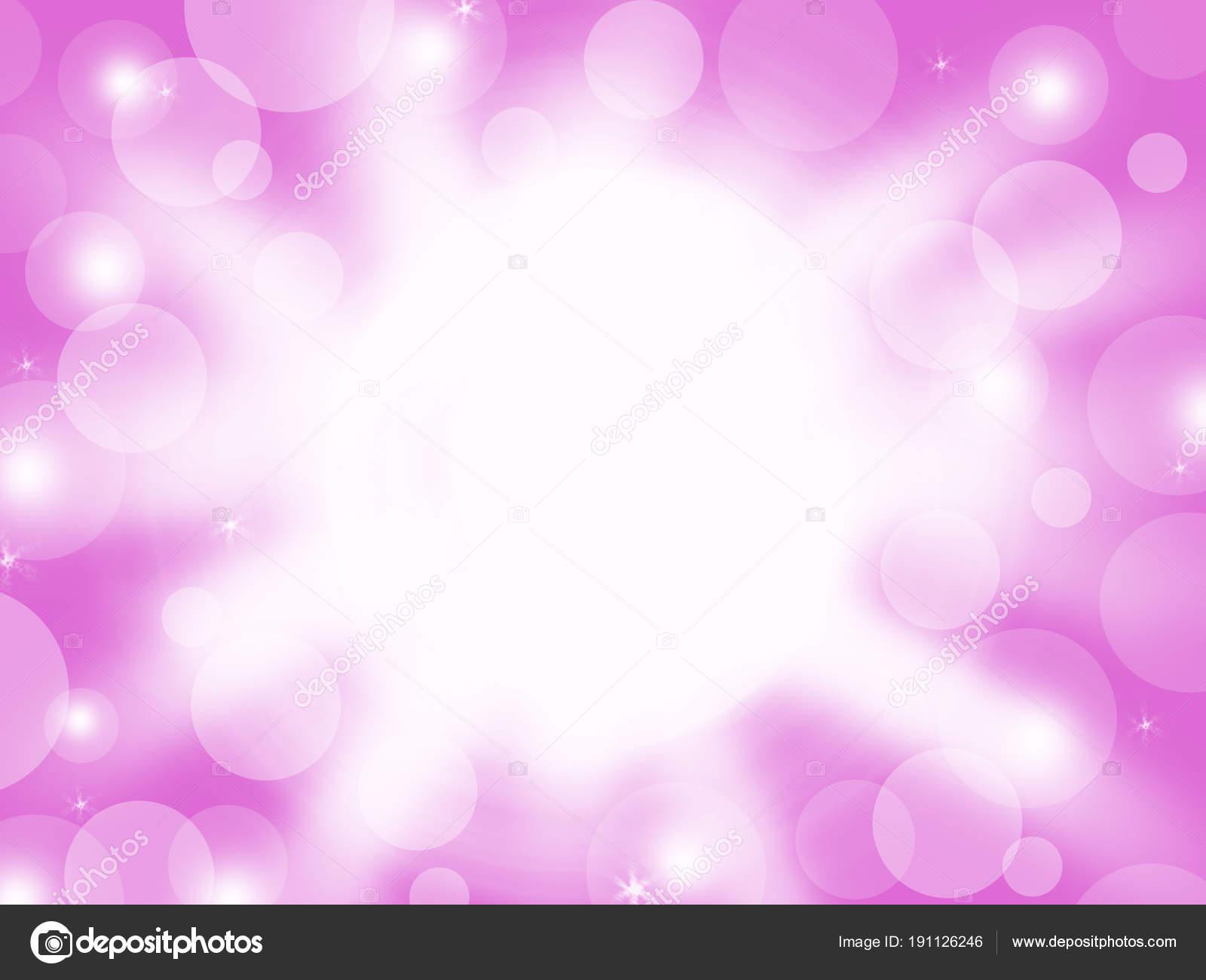 Illuminazione Astratta Bokeh Bianco Colore Sullo Stile Sfondo Colore