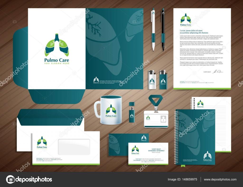 Los pulmones centro diagnóstico médico vector logo plantilla, diseño ...