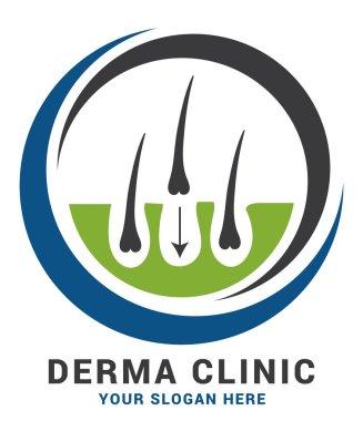 Dermatology Hair Transplant Logo